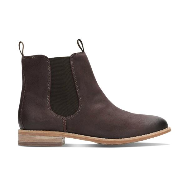 04549144 Clarks Maypearl Nala Burgundy Boot | Phillips Shoes | FREE Delivery