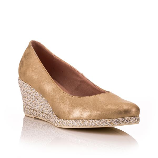 044739afd0 Jose Saenz Glisten Gold | Phillips Shoes | FREE Delivery